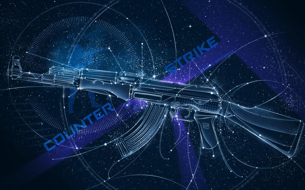cs go AK-47 art