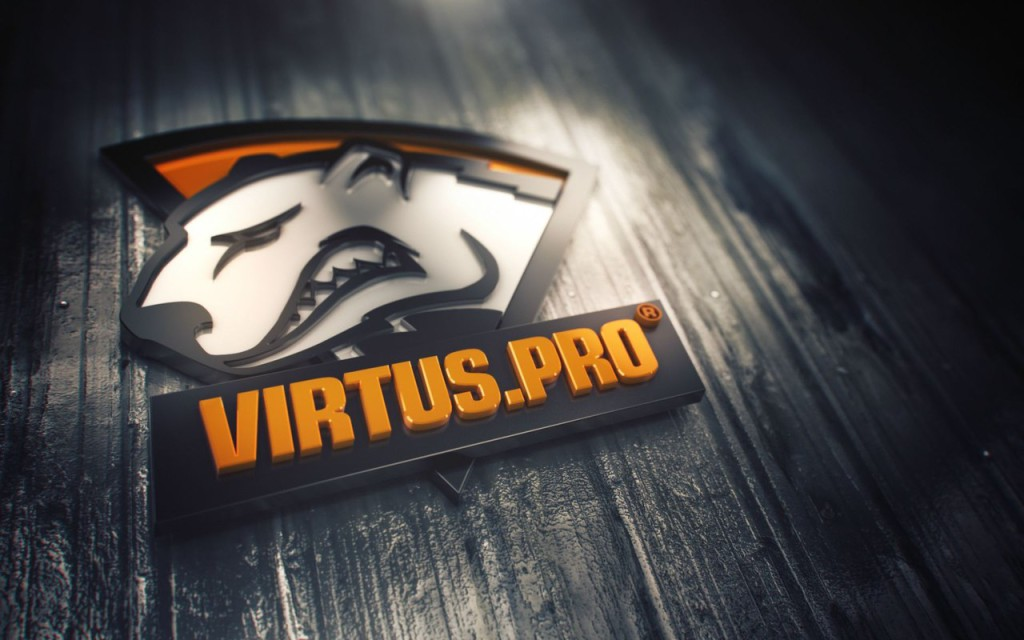 Команда Virtus.pro логотип