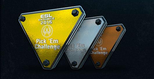 Katowice 2015 Pick'Em Challenge