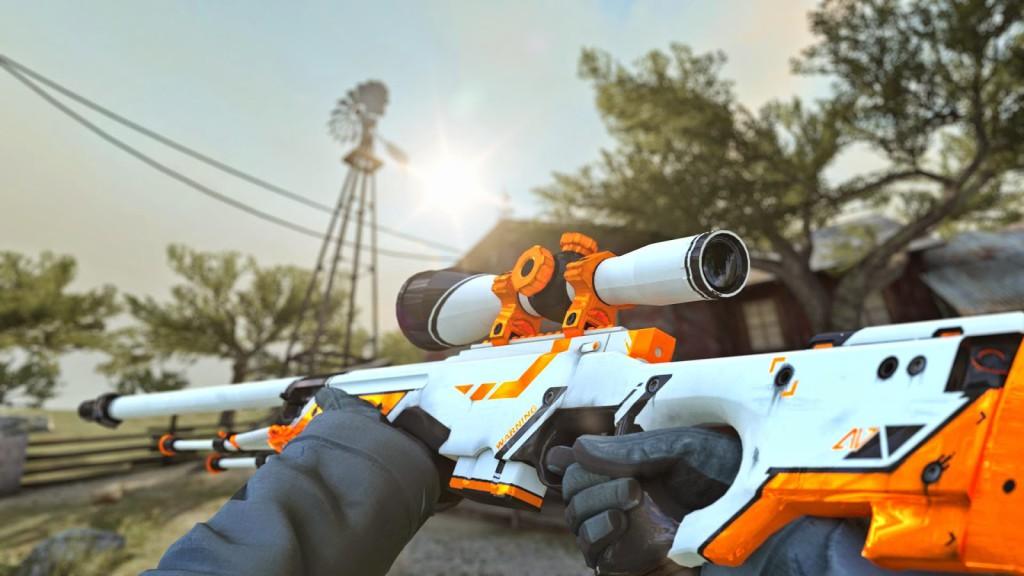 Как играть снайпером в cs:go