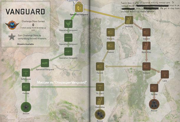 карта операции кс го авангард