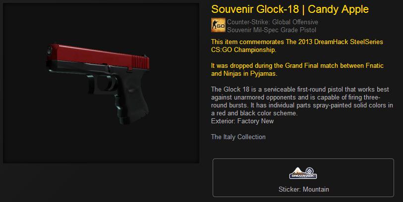 souvenir glock-18