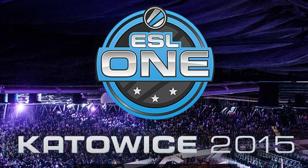 Расписание ESL One в Катовице 2015