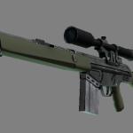 G3SG1 (Скорострелка у террористов, Винторез) в cs:go