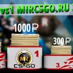 Расписание и турнирная сетка чемпионата от mircsgo.org