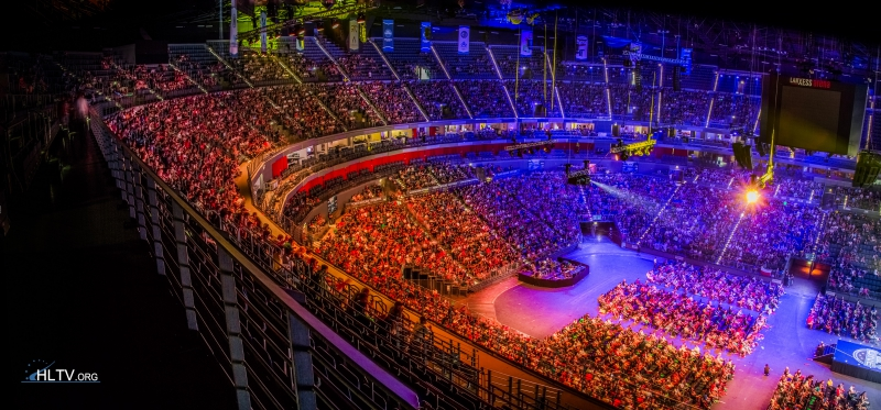 стадион ESL One Cologne 2015