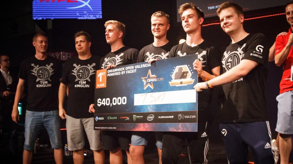 TSM - победители Второго этапа FACEIT лиги 2015