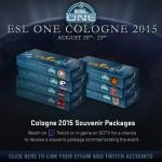 Как получить сувенирный кейс cs go на ESL One Cologne?