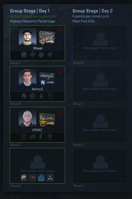 Pick'Em Challenge игроков Кельн 2015