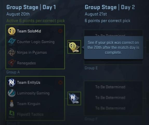 Pick'Em Challenge команды Кельн 2015