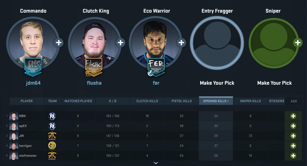 team fantasy