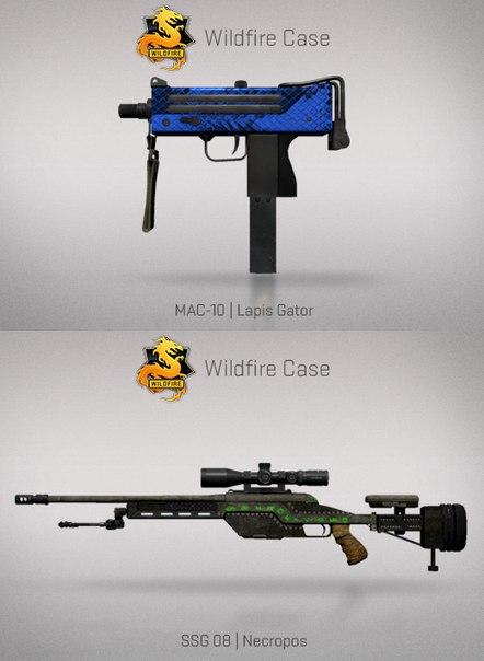 Mac-10 Lapis Gator и SSG 08 Necrophos