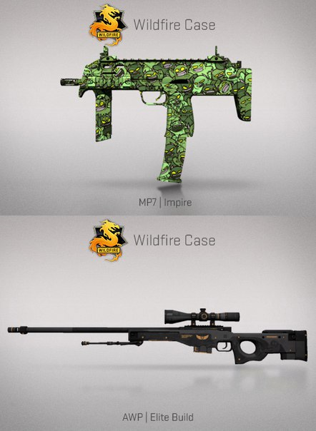 MP7 Impire и AWP Elite Build