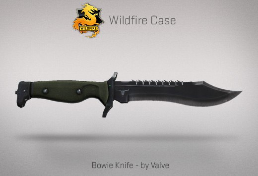 Bowie Knife - by Valve