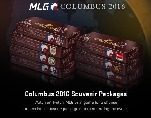 MLG Columbus 2016: Сувенирные наборы