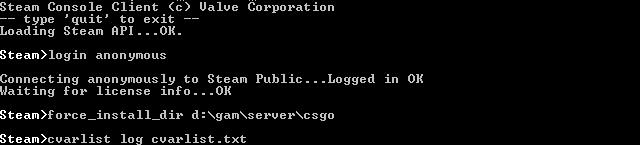 Сервер КС ГО