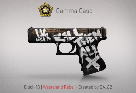 Glock-18 Wasteland Rebel