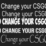 Как изменить шрифт в КС ГО?
