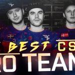 Лучшие команды мира в CS GO: рейтинг HLTV