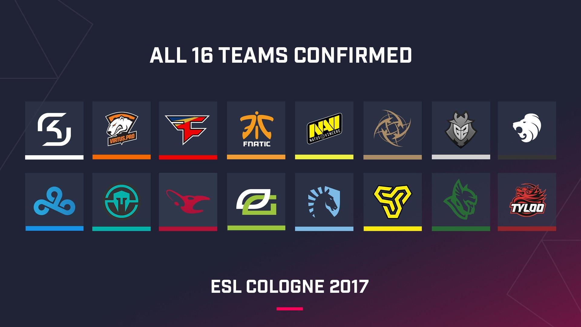 Лучшие команды мира в CS GO