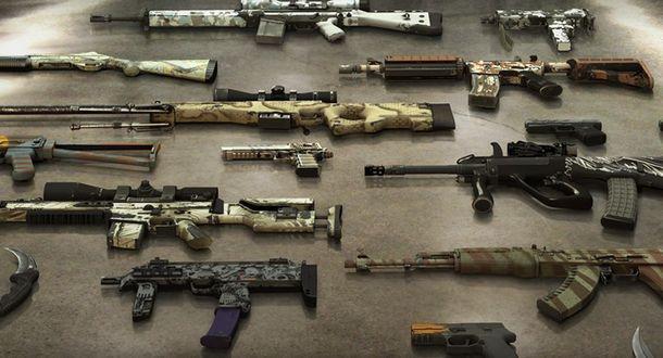 Модели оружий CS GO