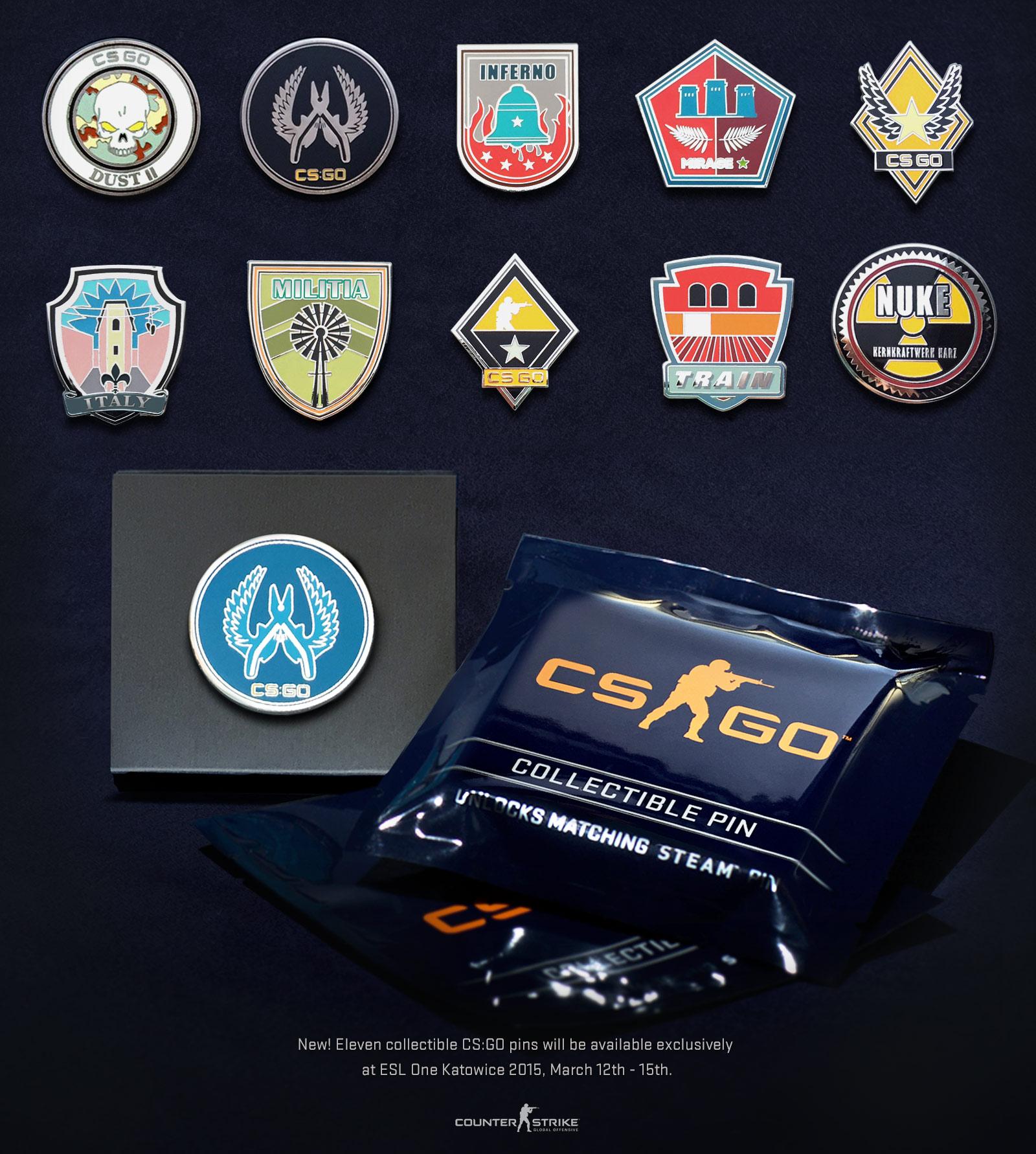Значки в CS GO