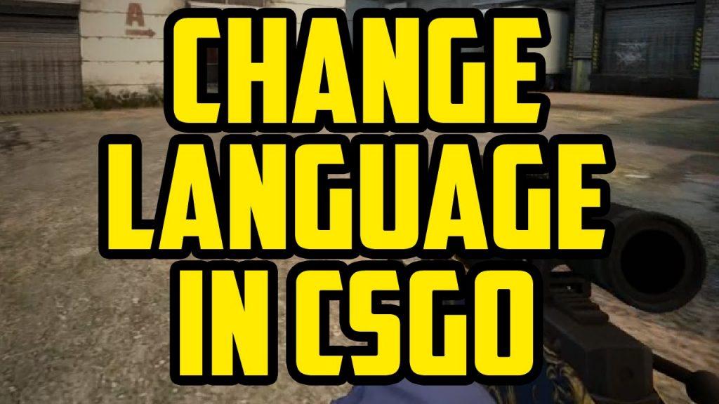 как поменять язык в кс го